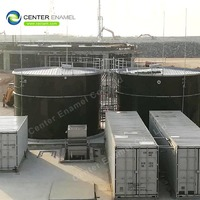 Enamel Bolted for Agricultural Water Storage Tanks / Safeguarding Potable Water Tank with AWWA D103-09 Standard