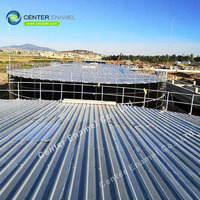 Glass Fused Steel Tanks , Bolted Steel Water Storage Tanks For Farm
