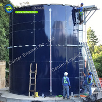 Steel Water Storage Tank For Agriculture / 10000 gallon steel water tank
