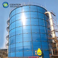 100 000 gallon Bolted Steel Tanks for Industrial Effluent Aeration Process