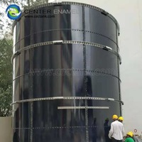 Bolted Glass Fused to Steel Tank for Waste Water / Sewage Treatment in accordance with EN 28765 / AWWA D103