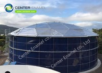 Bolted steel Water Storage Tanks for Commercial And Industrial Fire Protection Water Storage