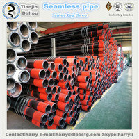 Manufacturer API 5CT steel pipe used oil well steel casing pipe tubing