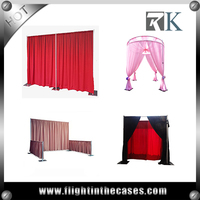 aluminum backdrop stand pipe drape used pipe and drape for wedding
