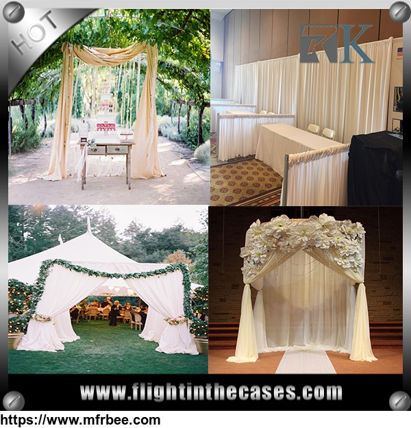 trade_show_used_pipe_and_drape_for_sale_trade_show_booth_stand_for_wedding_event