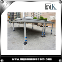 RK hot-sale industrial material beyond stage wooden stage