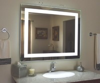 Wholesale Factory CE/UL Wall Mounted Backlit LED Illuminated Mirror for Hotel Bathroom