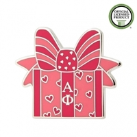 more images of Alpha Phi Gift Box Enamel Pins