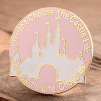 Castle Life Enamel Pin
