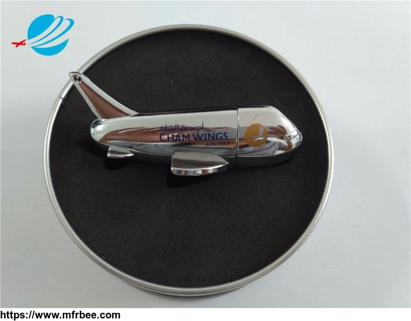 custom_logo_printing_aircraft_usb_flash_drive