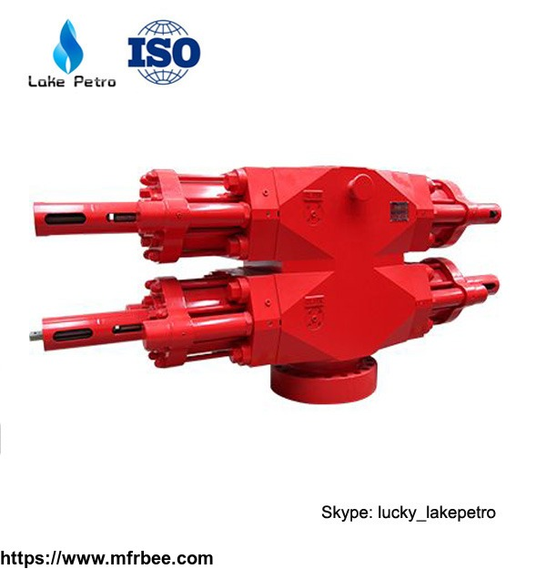 U Type Hydraulic Cameron Double Ram Bop For Well Drilling