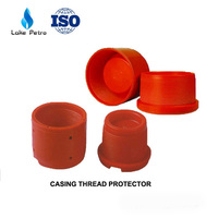 plastic composite API thread protector for casing and tubing