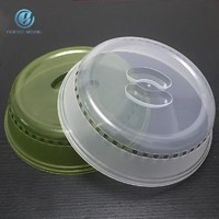 more images of Microwave food plate cover with steam vents 10.5 inches