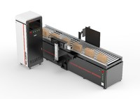 Customize carton Box CO2 Laser marking machine for paper/wood/plastic leather
