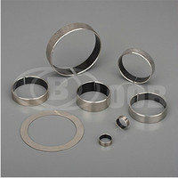 more images of OOB-33 Stainless steel 316 bearing backed PTFE
