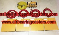Modular air casters manufacturer Shan Dong Finer Lifting Tools co.,LTD