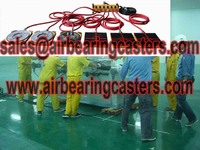 Air bearing movers industrial tool