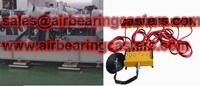Air bearing movers perfect for moving works