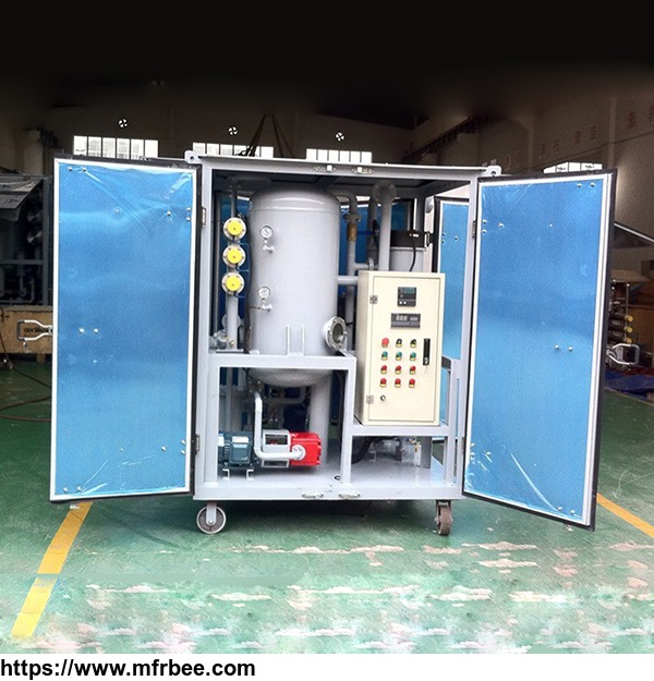 ZJA Double-Stage High Vacuum Used Transformer Oil Filtration Machine Oil Purifier