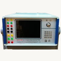 120 V, 60 Hz 6 Phase LCD Display Protection Relay Testing Device Made in China Low Price