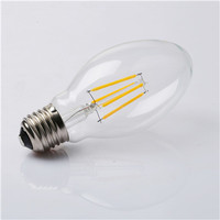 Wholesale DE-4D LED clear glass energy saving filament Bulb