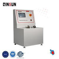 din abrasimeter test machine for testing natural and synthetic rubber
