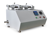 Precision Double Head Rotary Abrasion Tester with Rotary Platform Dual (Double) Head