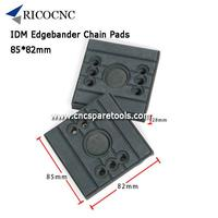 85x82mm IDM Edgebander Chain Pads CNC Tracking Pads for Edgebanding Machine