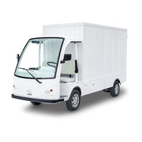 Electric powered cargo truck LQF120M
