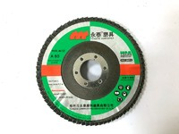 Yongtai 5 Inches,125x22.3mm, T27 Good Quality Flap Disc for Stainless Steel, Blue Color, EN12413
