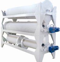 Indented Cylinder Separator for seed cleaning and grading