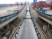 Sw Straight Warp Rubber Conveyor Belt for Conveyor
