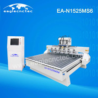 Multi Spindle CNC Router for Mass Wood Carving Jobs