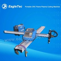 Portable CNC Flame Plasma Cutting Machine with One Flame and One Plasma Torque