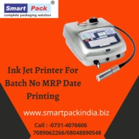 Inkjet Printer For MRP Date And Batch No Printing