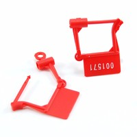 Luggage Plastic Padlock Seal Anti-Tamper Numbered Suitable for Shoes, Clothes, Suitcases and Bags (SL-09E)