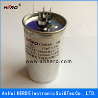 CBB60 AC Motor Start Film Capacitor for Water Pump