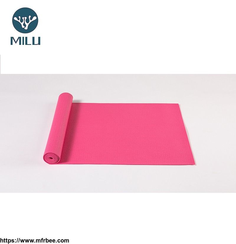 (Wholesales) Manufacture natural rubber eco friendly yoga mat high quality black round yoga mat