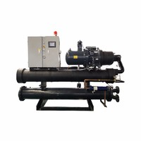 BOBAI 100 kw water screw chiller for polyurethane high pressure foam machine