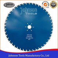 32 inch Wall Diamond Cutting Saw Blade for Reinforced Concrete Cutting