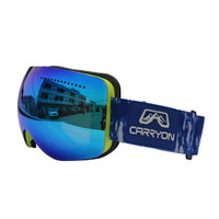 oem brand ice skate winter outdoor sports skiing snowboarding glasses ladies skydiving goggles