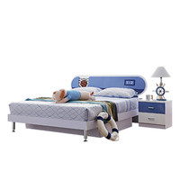 8118 high quality fashion design bed football bedroom furniture for boy