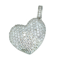 2015 Manli the most popular 925 Sterling silver heart-shaped Pendant