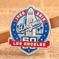 more images of Dodgers Baseball Trading Pins