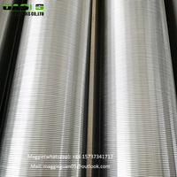 more images of Stainless steel wire wrapped screen filters OASIS water well screen pipes