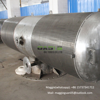 high quality water desalination passive intake filter pipes for wastewater treatment