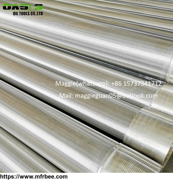 johnson_type_well_screen_stainless_steel_wedge_wire_screens_customized_