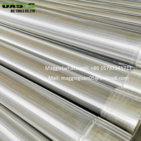 Johnson type well screen stainless steel wedge wire screens (customized)