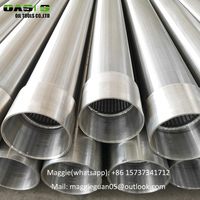ISO9001 stainless steel 304 Johnson type screen /wedge wire screen for water well drilling