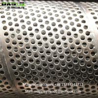 premium mesh sand screens stainless steel perforated based control screen pipes
